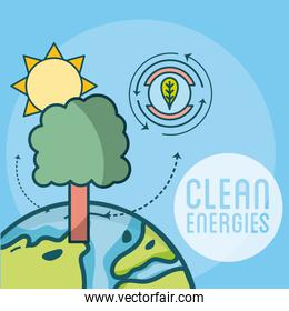 Clean and green energies