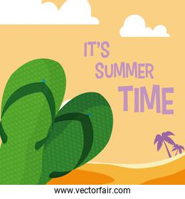 Its summer time card