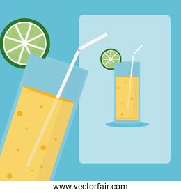 Delicious and fresh drink