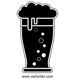 Isolated beer design