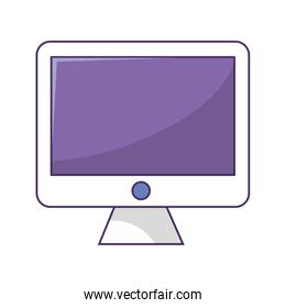 computer technology isolated icon