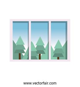 Isolated window design