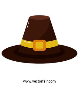Isolated hat design