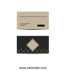 Branding envelope design