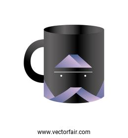 Branding coffee mug design