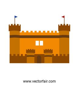 Isolated castle design