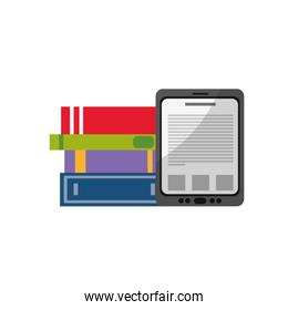 Tablet and books design