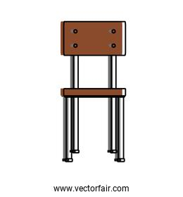 Isolated chair design