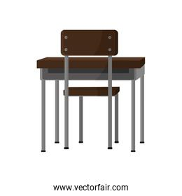 School chair and table design