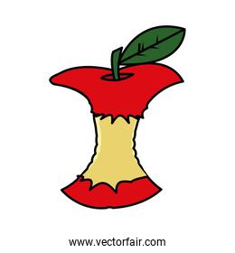 Isolated apple design