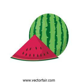 Isolated watermelon design
