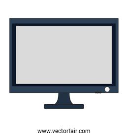 computer monitor device technology icon isolated