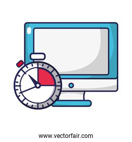 screen computer technology and chronometer technology