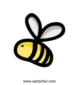 cute bee insect animal flying