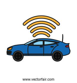 car transport with digital wifi connection