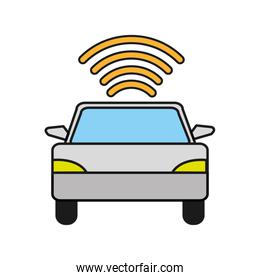car transport with wifi digital connection