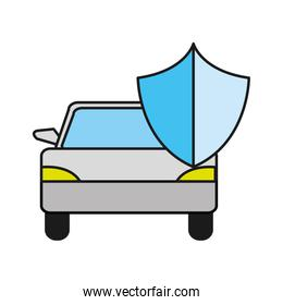 car transport with shield security design