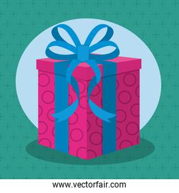 Gift with bow design