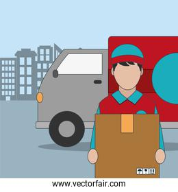 Delivery and shipping design