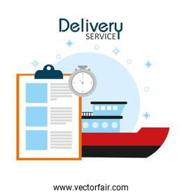 Freigther delivery service