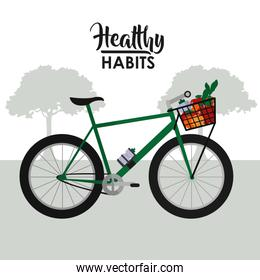 Healthy habits lifestyle