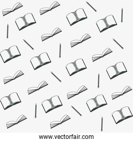 Hand draw books background