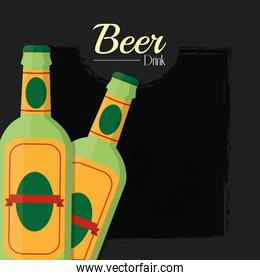 Beers alcohol drink