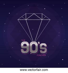 The 90s forever concept