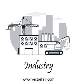 Construction industry concept