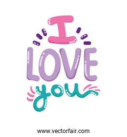 i love you message romantic style