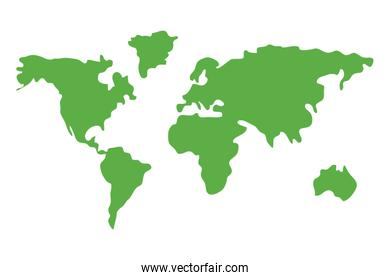 world map and geography