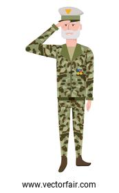 military force man design