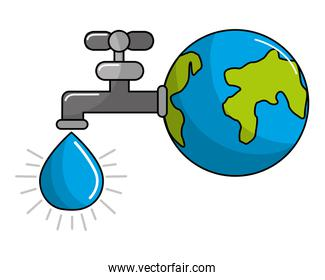 Isolated eco tap design
