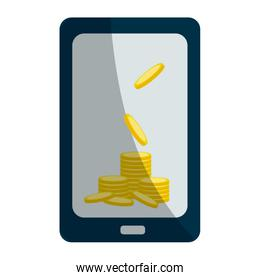 Isolated money icon design