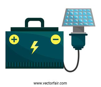Isolated eco battery design