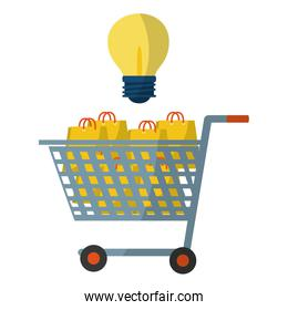 Shopping online and advertising