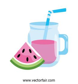 delicious fresh juice cartoon