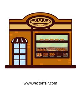bakery food cartoon