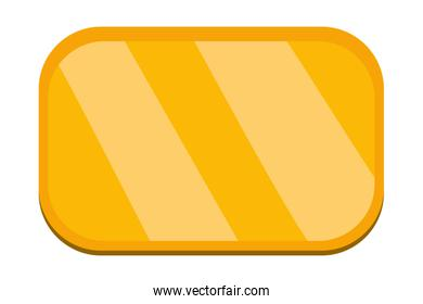 yellow sign frame