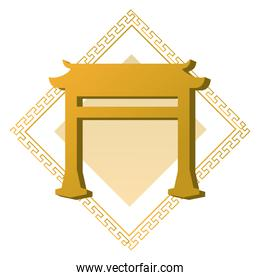 chinese golden gate