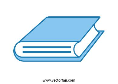 book isolated icon