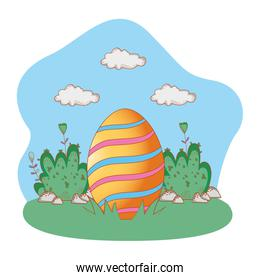easter egg cartoon
