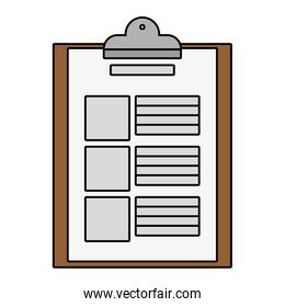 documents paper cartoon