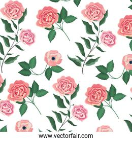 Floral spring background