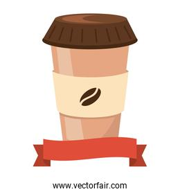 coffee paper cup cartoon