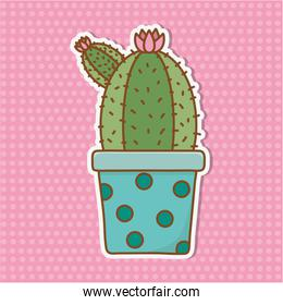 cactus icon cartoon