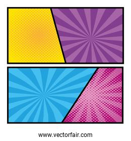 pop art comic cartoon vector illustration