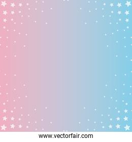 degrade from pink to blue background