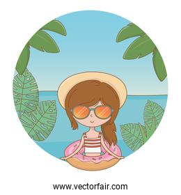vacations and summer outdoor time