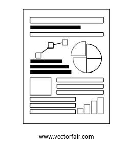 Isolated Workflow and infographic design vector illustration